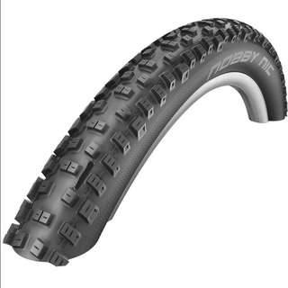"🆕! Schwalbe 26 X 2.1 Nobby Nic MTB Folding MTB Tyres - 26"" - Black / 2.1""  ( PRICE FOR 2 TYRES)   #OK"