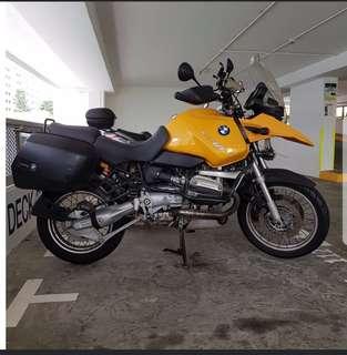 BMW r1150gs.