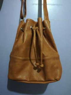 Aeropostale Brown Bucket Bag