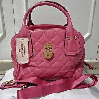 (SALE!!!) Juicy Couture Pink Hand/Sling Bag