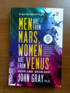 MEN ARE FROM MARS, WOMEN ARE FROM VENUS (B.Melayu)