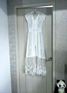 BNEW High-quality See-through Boho Dress