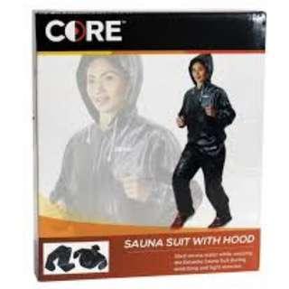 Core Sauna Suit With Hood