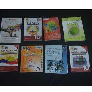 Grade 10 K-12 textbooks