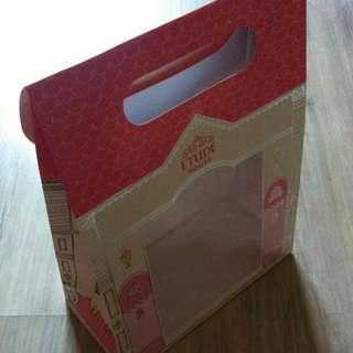 (半價) ETUDE HOUSE Cosmetic Paper Shopping Gift Bag 化妝品 紙袋 禮物袋 (Half Price)