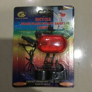 Bicycle Brake/Flash/Steady Safety Light