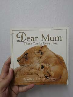 Dear Mum, thank you for everything!