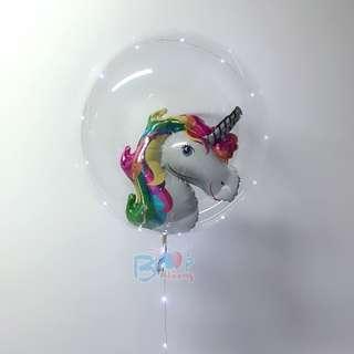 🚚 Unicorn in Led Balloon