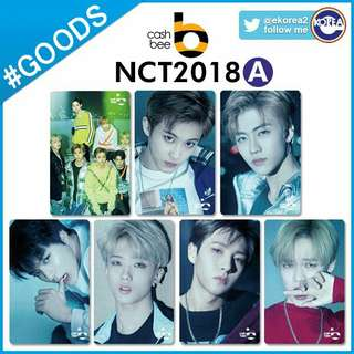 NCT cashbee transportation card