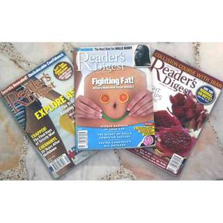 READERS' DIGEST (3 for $2)
