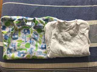 Baby sleeping bag (0-6 months) $9 each or $16 for two