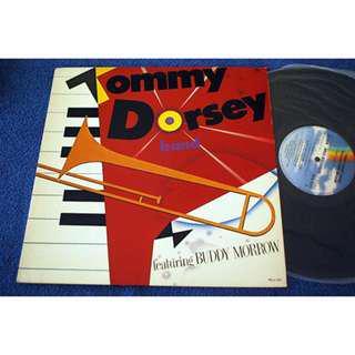 Tommy Dorsey Band Vinyl LP Record Piring Hitam