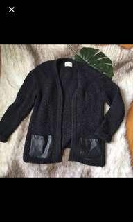 Zara knit black jumper