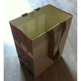 (半價) COACH 70TH ANNIVERSARY Paper Shopping Gift Bag 紙袋 禮物袋 (Half Price)