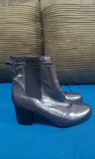 Target - Metallic Ankle Boots