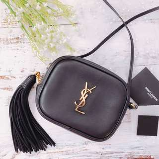 YSL tassel blogger bag