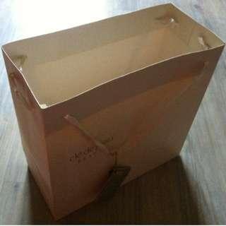 (半價) CLE DE PEAU Paper Shopping Gift Bag 紙袋 禮物袋 (Half Price)