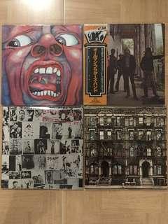 Rock vinyl record LP