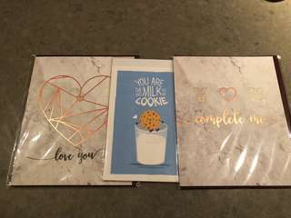 3 for $ 2 Greeting Cards