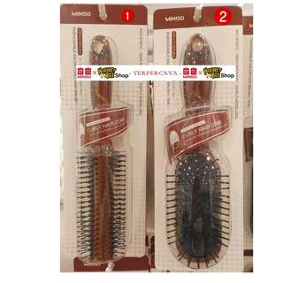 Japan Quality - Sisir Fashionable Curly Comb Miniso Import