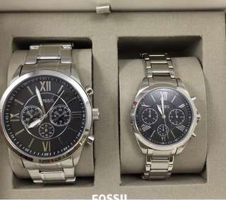 Fossil Couple Watch (from U.S.)