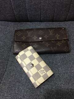 Lv small leather