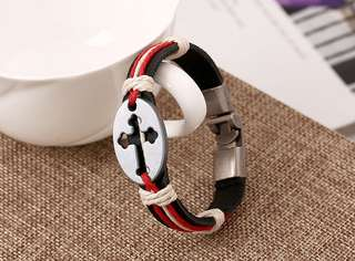 🙋‍♀️ladies leather bracelet 情侶💑女裝皮手繩