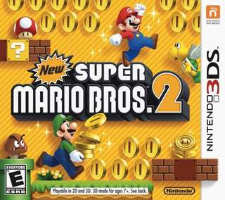 3DS Super Mario Bros 2