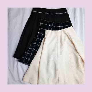 (SALE) Korean Skirt Bundle (2pcs High Quality Skirts)
