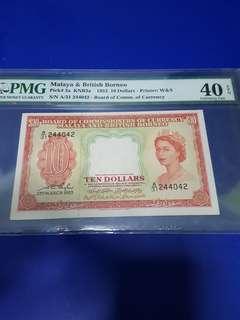 $10-MBB-1953-PMG40EPQ .ORIGINAL .