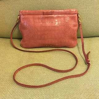 Miu Miu st cocco lux clutch / crossbody bag