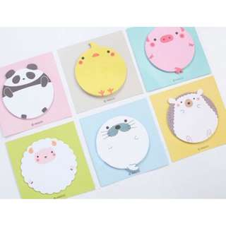 Cute Animal post it/Post-it/sticky note