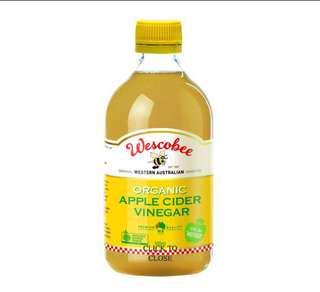 Wescobee Apple Cider Vinegar