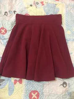 Stretchable skirt