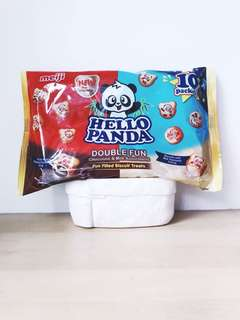 Japan Snacks & Goodies Meiji Hello Panda Double Fun Chocolate & Milk Assortment