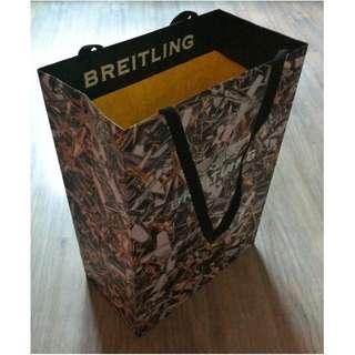 (半價) BREITLING Paper Shopping Gift Bag 紙袋 禮物袋 (Half Price)