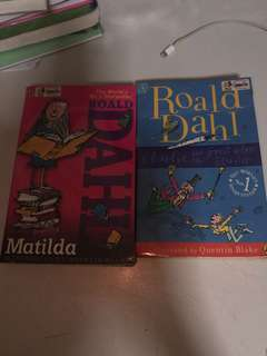Matilda and Charlie's and the Great Glass Elevator by Ronald Dahl