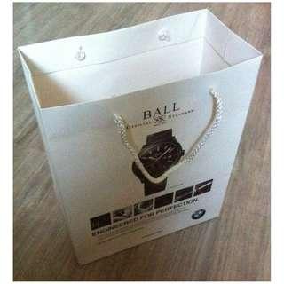 (半價) BMW X BALL Paper Shopping Gift Bag 紙袋 禮物袋 (Half Price)