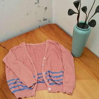 🚚 粉色針織外套  #畢業一百元出清