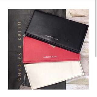 Charles and Keith Basic Long Wallet