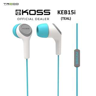 Koss KEB15i Earbuds In-Ear Earphones with In-line Microphone