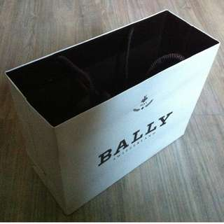(半價) BALLY Paper Shopping Gift Bag 紙袋 禮物袋 (Half Price)