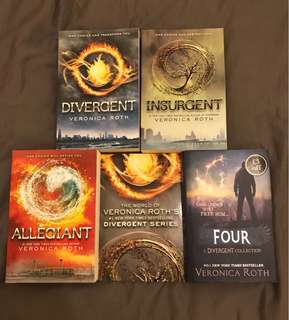 Divergent Series Box Set and Four Character Story