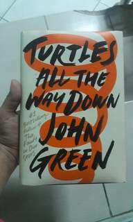 Turtles All The Way Down by John Green(Hardbound)