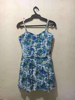 Miss Selfridge Floral Short Dress
