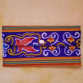 Boho inspired wallet