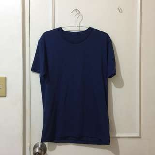 Blue uniqlo shirt