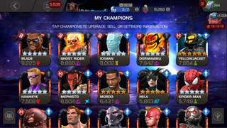 Mcoc pro account (marvel contest of champions mobile game)