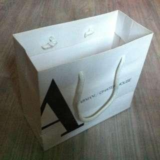 (半價) ARMANI Paper Shopping Gift Bag 紙袋 禮物袋 (Half Price)