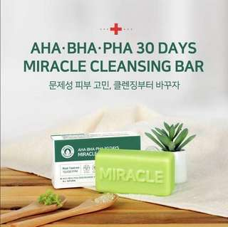 [SOME BY MI] AHA-BHA-PHA 30 Days Miracle Cleansing Bar 106g